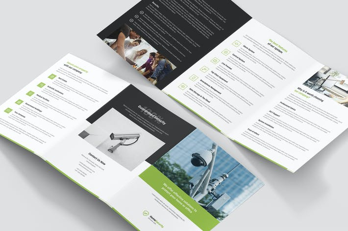 Thumbnail for Brochure – Home Security Tri-Fold A5