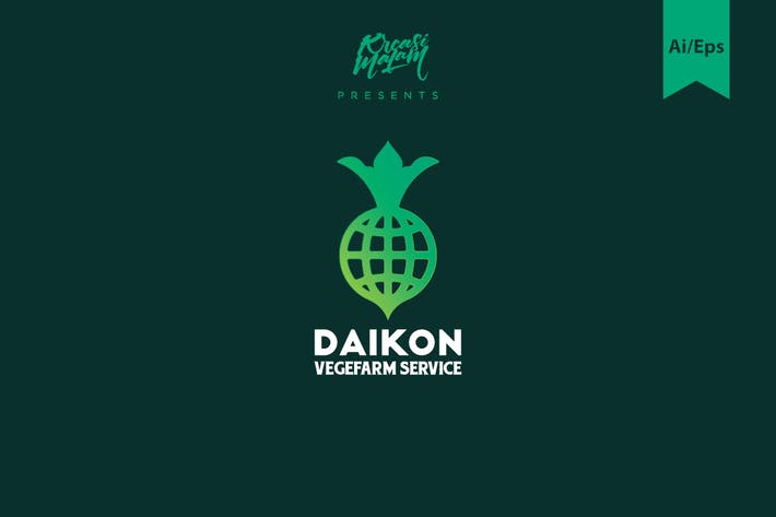 Thumbnail for Daikon Logo Template