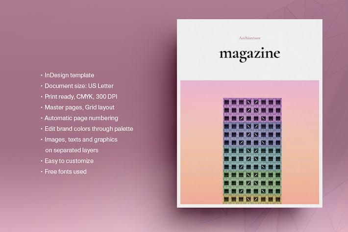 Architecture Magazine Template