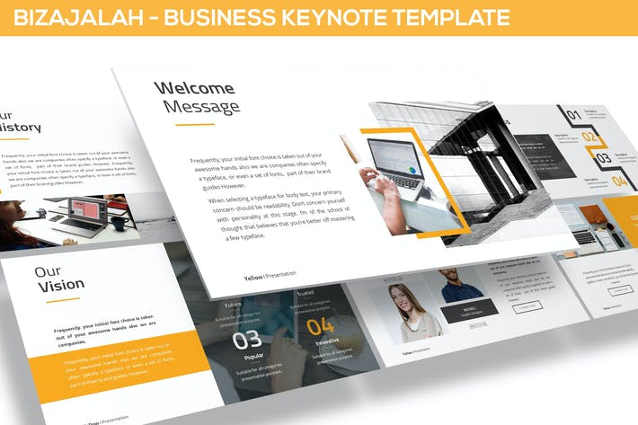 Thumbnail for Bizajalah - Business Keynote Template