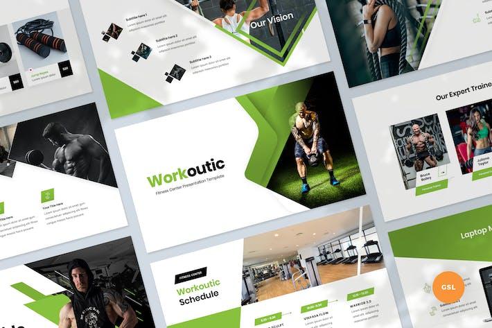 Fitness & Workout Presentation Slides Template