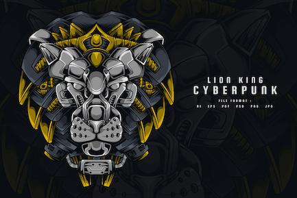 Der König der Löwen Cyberpunk