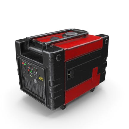 Tragbarer Generator Rot Gebraucht