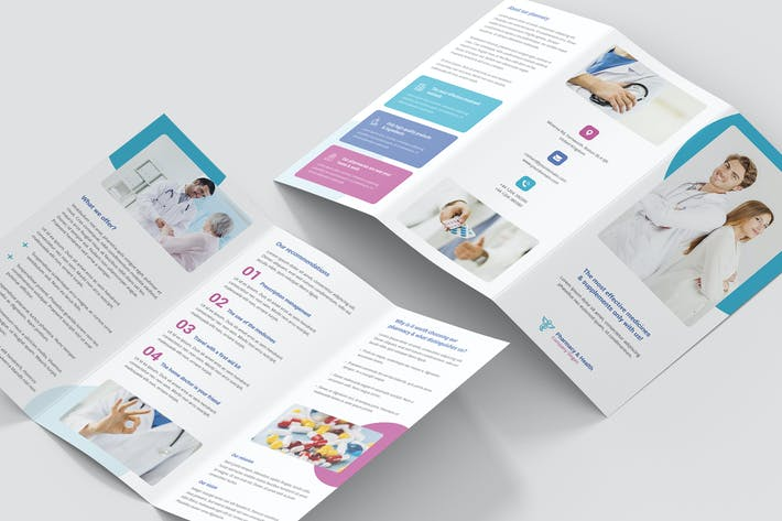 Thumbnail for Brochure – Pharmacy Tri-Fold