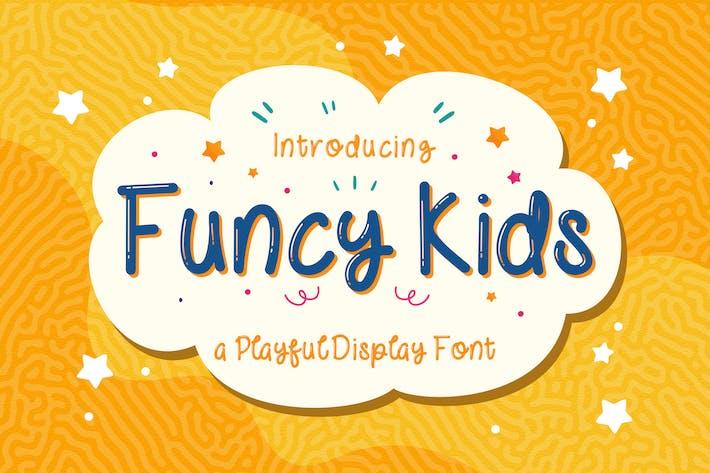 Thumbnail for ¡ Niños Funny! - Fuente de visualización lúdica