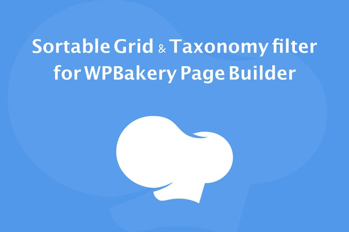 Thumbnail for Sortable Grid & Taxonomy filter - WPBakery Builder