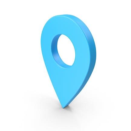 Значок веб-узла «Контакт местоположения»