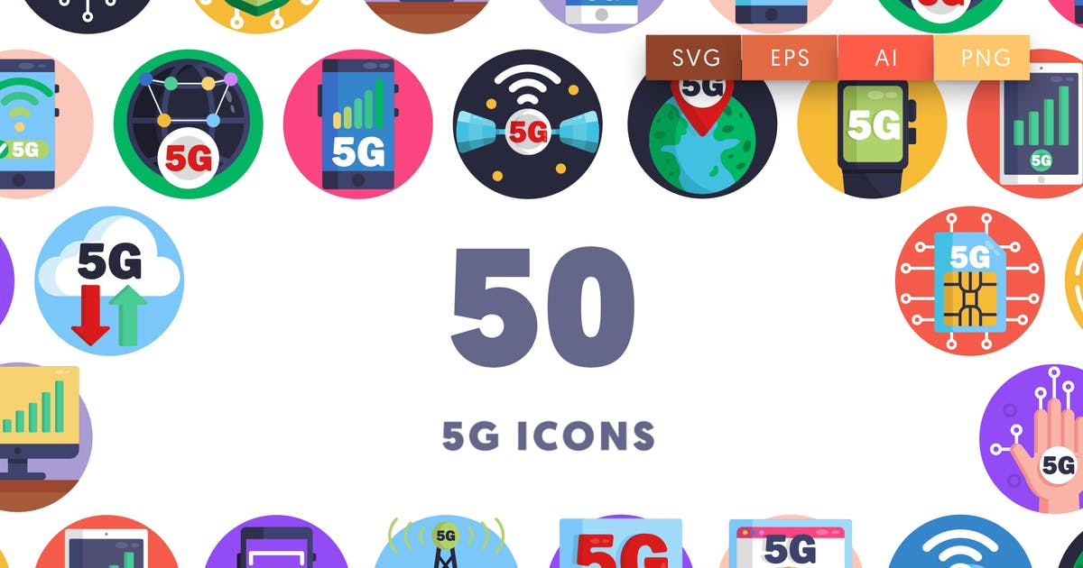 Download 50 5G Icons by thedighital