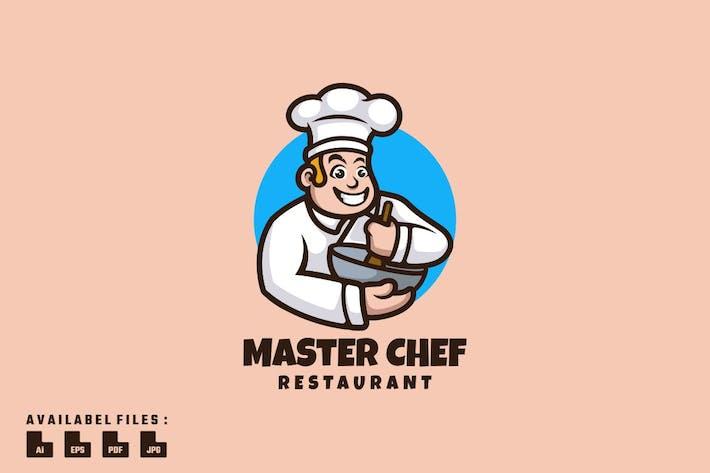 Master Chef Logo Mascot