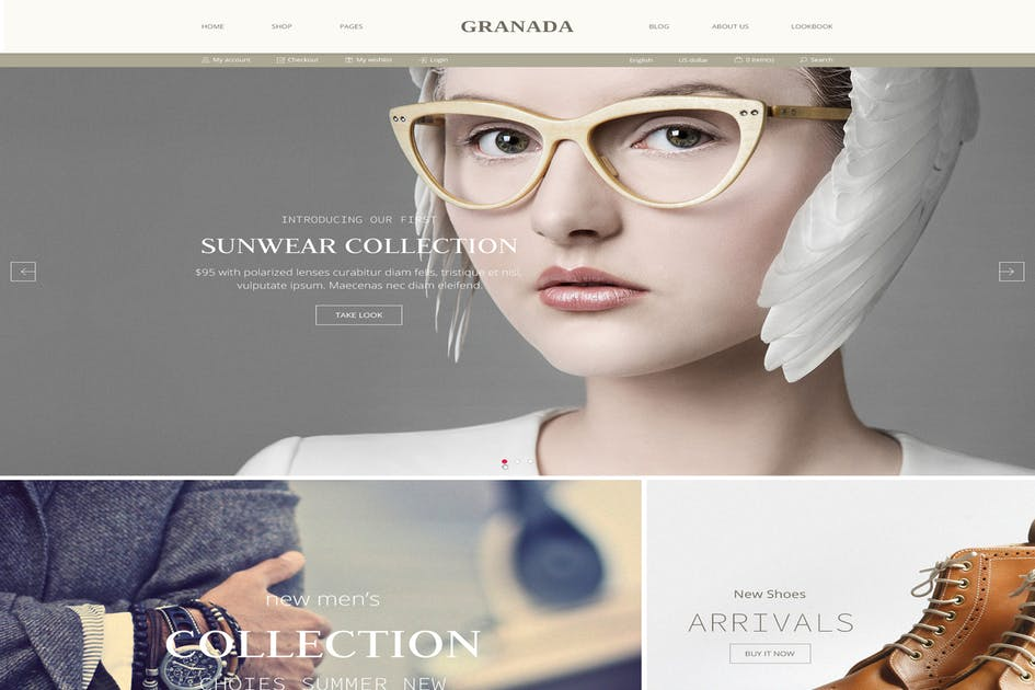 Download Granada Magento Theme by p-themes