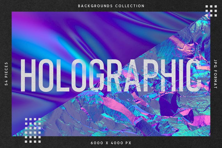 Thumbnail for Holographic Backgrounds Collection