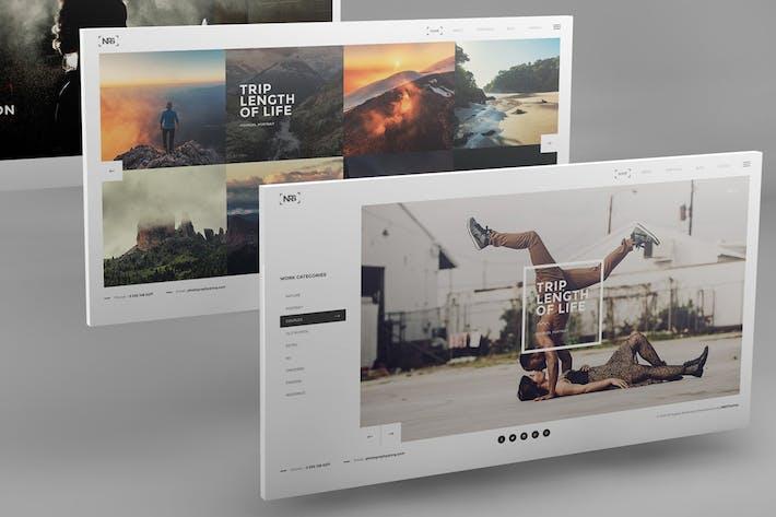 Thumbnail for 3D Desktop Screen Mockups