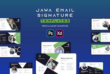 Jawa | Email Signature Template