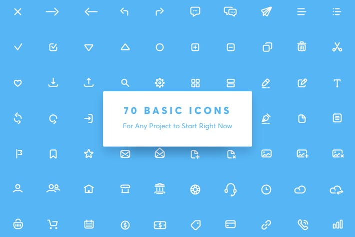 Thumbnail for Appon Outline Icon Set