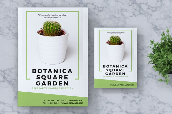 Thumbnail for Botanica Event Flyer & Poster Vol. 01