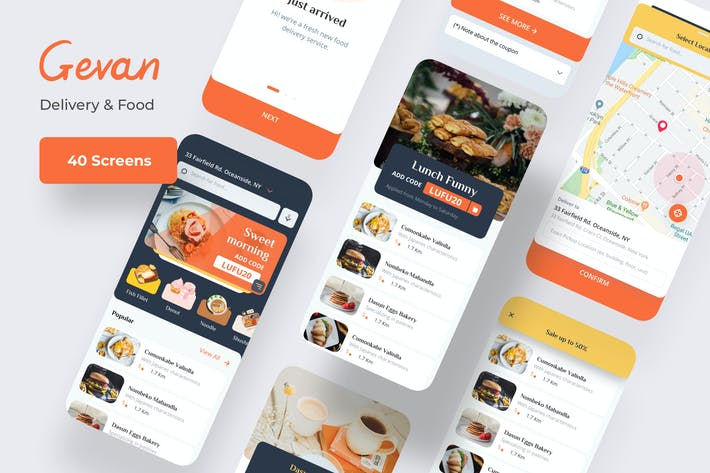 Thumbnail for Gevan Food Delivery Mobile App