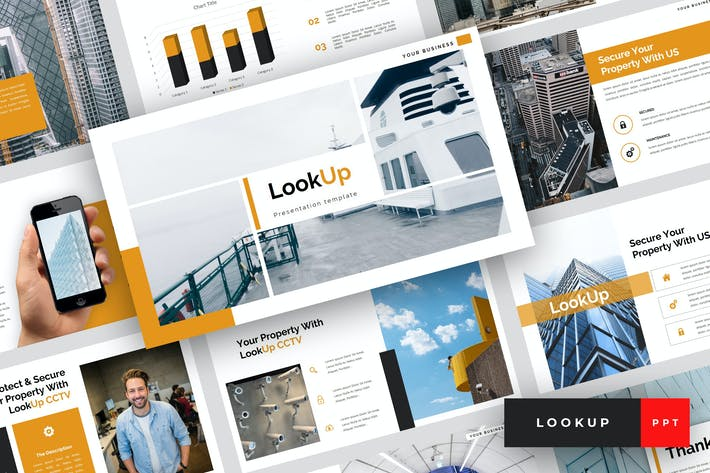 Thumbnail for LookUp - CCTV PowerPoint Template