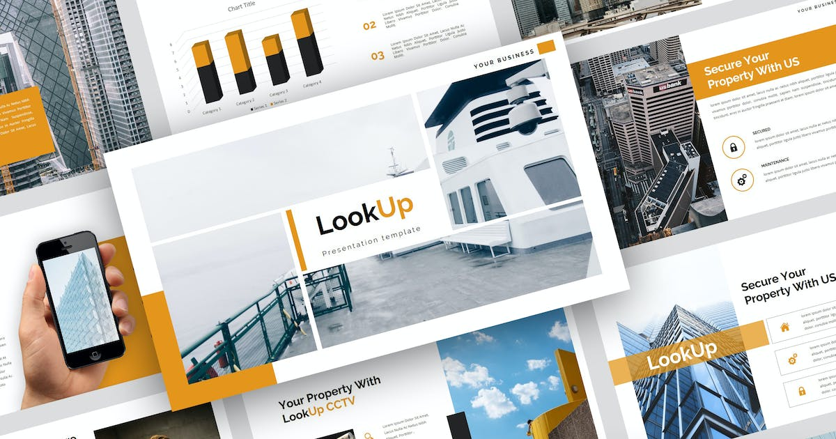 Download LookUp - CCTV PowerPoint Template by StringLabs