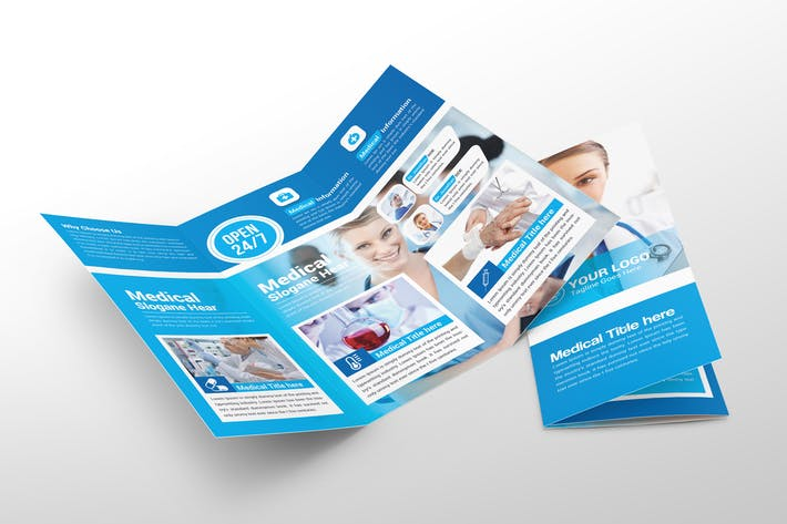 Thumbnail for Medical Trifold Brochure
