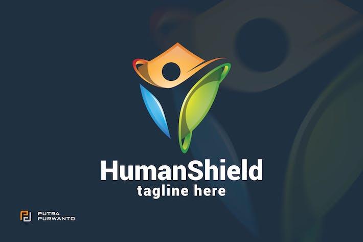 Thumbnail for Human Shield - Logo Template