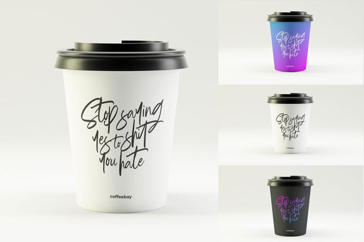 Cover Image For Coffee Cup Mockup