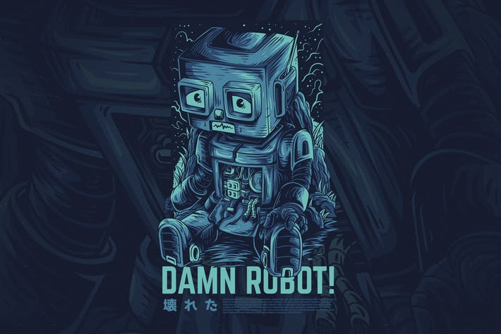 Thumbnail for Damn Robot Ver 2
