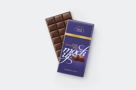 Chocolate Bar Mockup