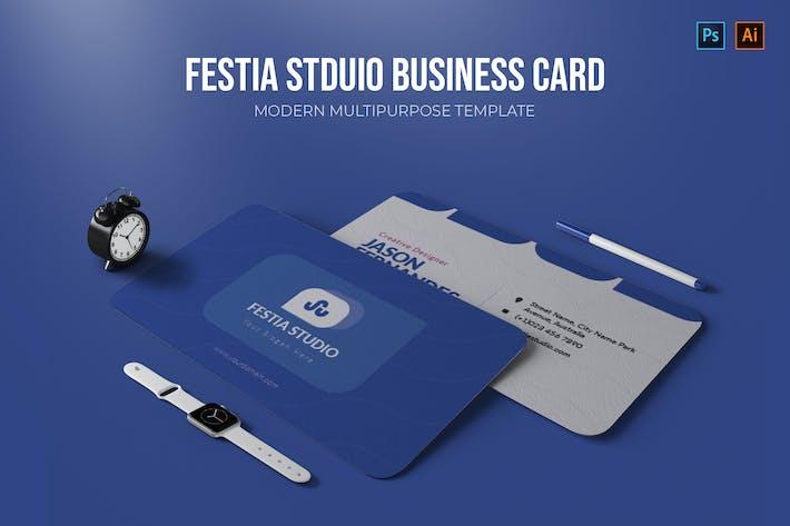 Thumbnail for Festia Studio - Business Card