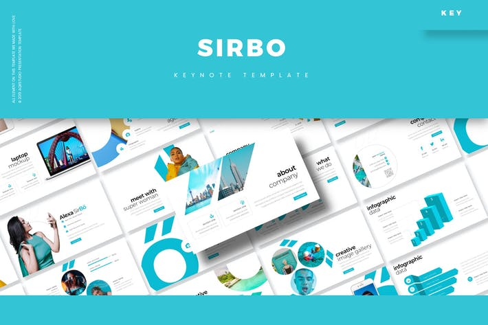 Cover Image For SIrbo - Keynote Template