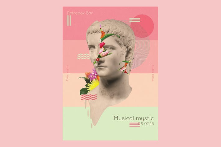 Cover Image For Musical Mystic Flyer Poster