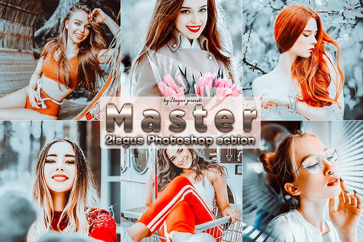 Thumbnail for Master Portrait Photoshop Actions