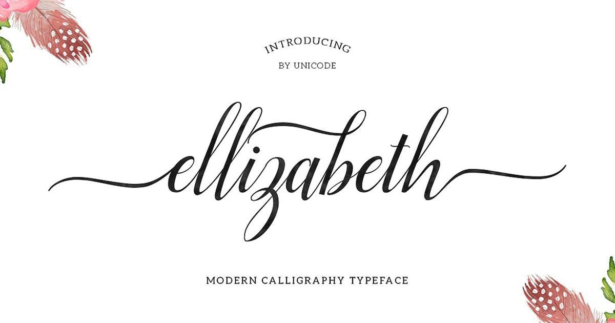 Download Ellizabeth Script by UnicodeID