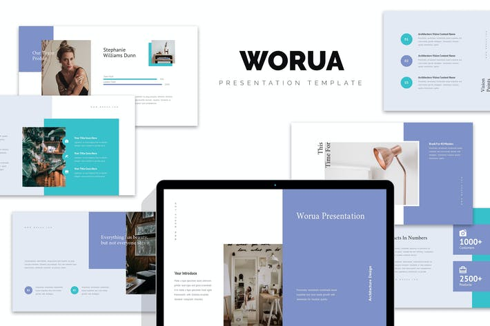 Thumbnail for Worua : Home Decor & Interior Business Powerpoint