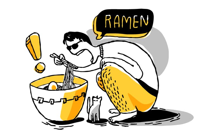 Cover Image For Ramen noodles