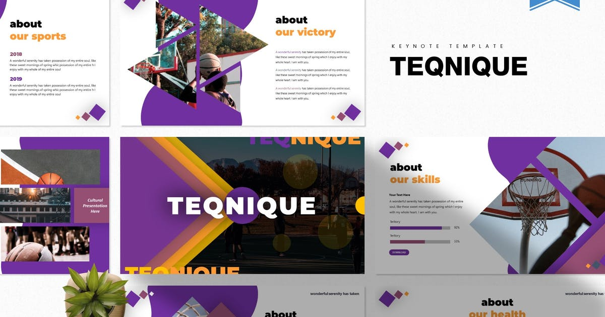 Download Teqnique | Keynote Template by Vunira