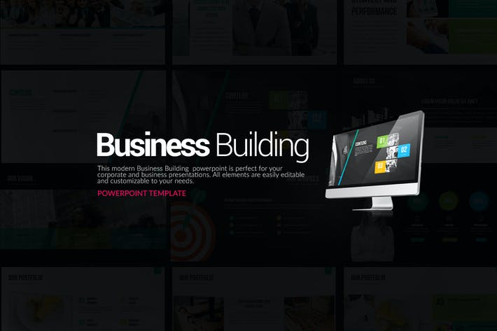 Thumbnail for Business Building Powerpoint Presentation