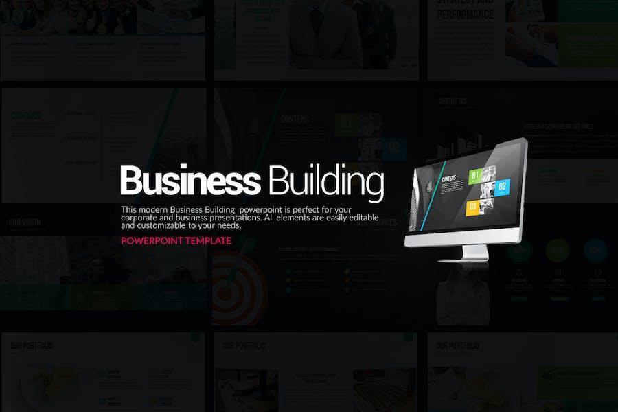 Презентация Powerpoint для бизнес-строительства