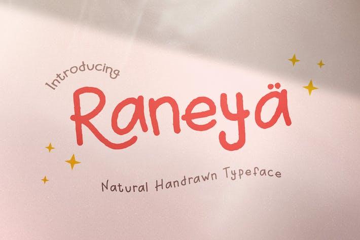 Raneya Девушка - Симпатичный шрифт
