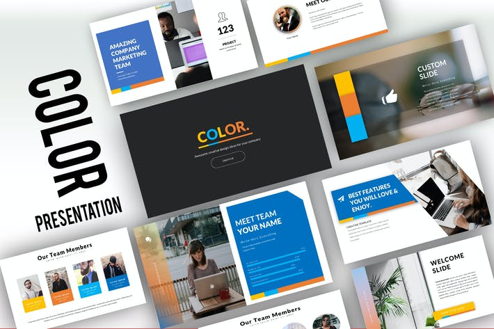 Thumbnail for Color Creative Keynote