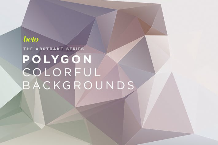 Thumbnail for Polygon Abstract Backgrounds V4