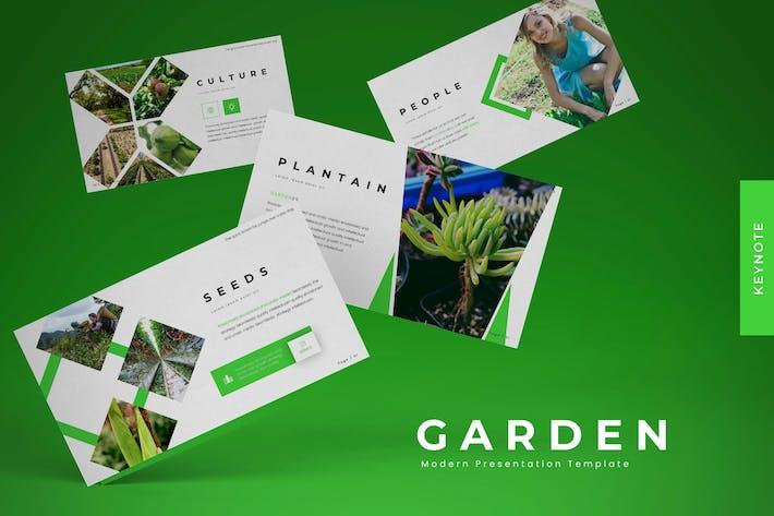 Thumbnail for Garden - Keynote Template