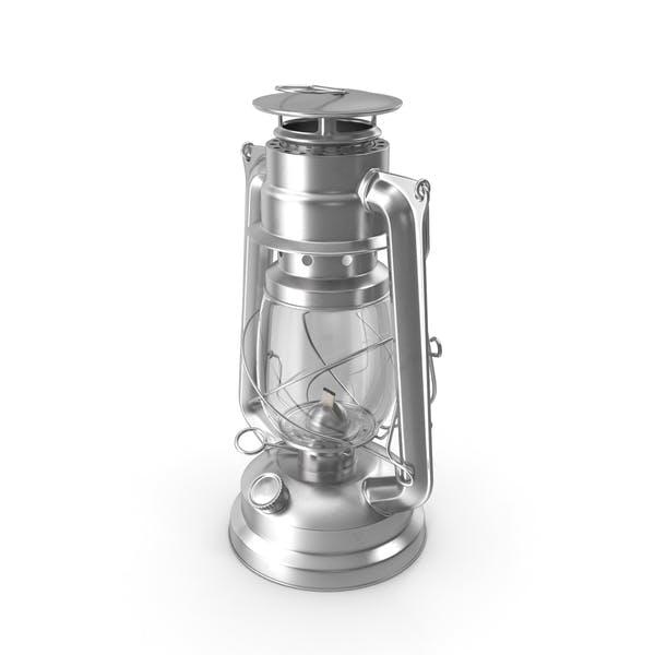 Lámpara de queroseno de acero inoxidable