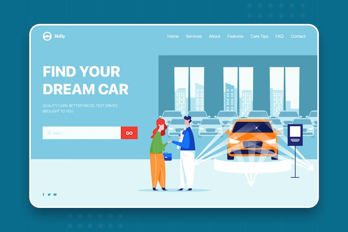 Thumbnail for Salesperson showing vehicle to potential customer