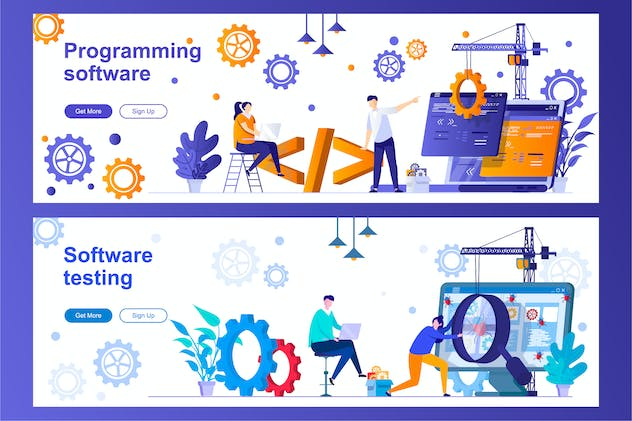 Programming and Testing Software Web Banners