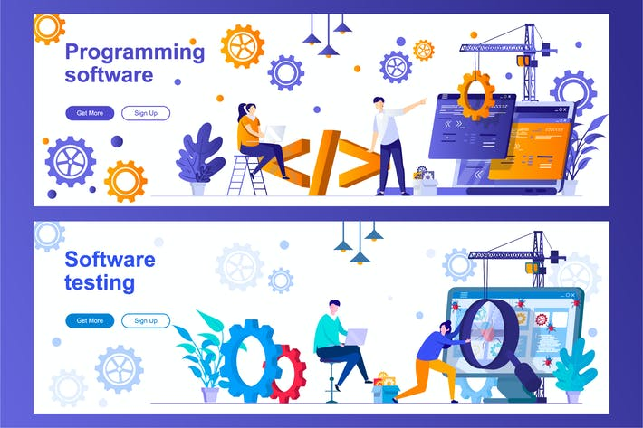 Thumbnail for Programming and Testing Software Web Banners