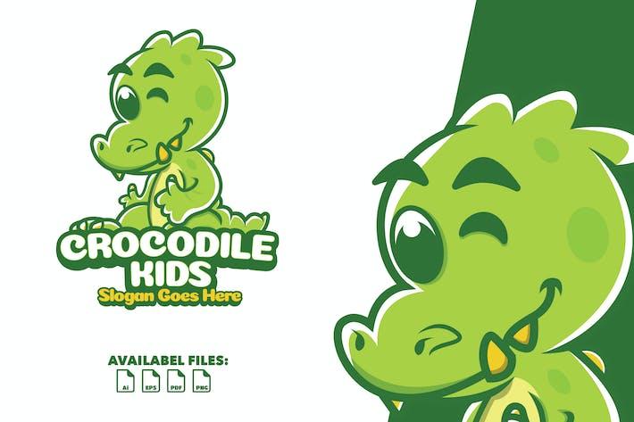 Thumbnail for Crocodile Kids - Mascotte Logo