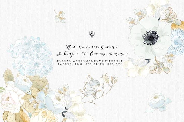 Thumbnail for November Sky Flowers