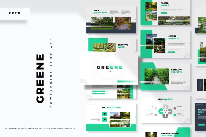 Thumbnail for Greene - Powerpoint Template