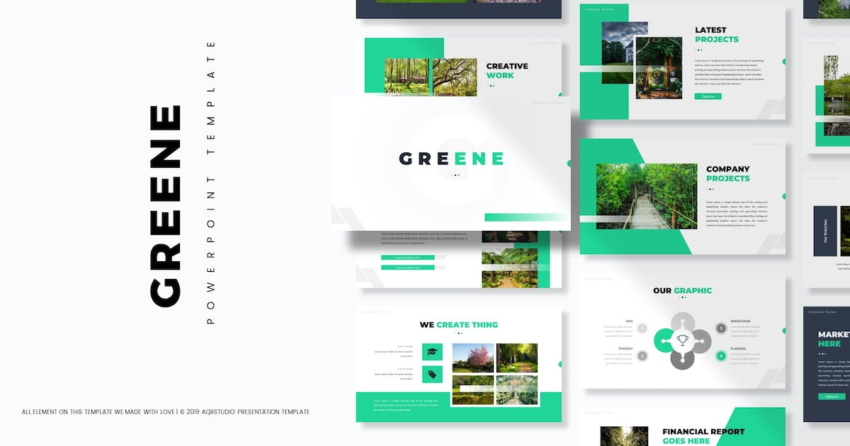 Download Greene - Powerpoint Template by aqrstudio