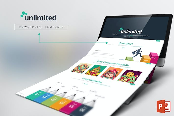 Thumbnail for Unlimited Powerpoint Template